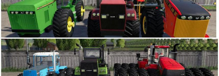 Pack POWERFUL TRACTORS v2.0