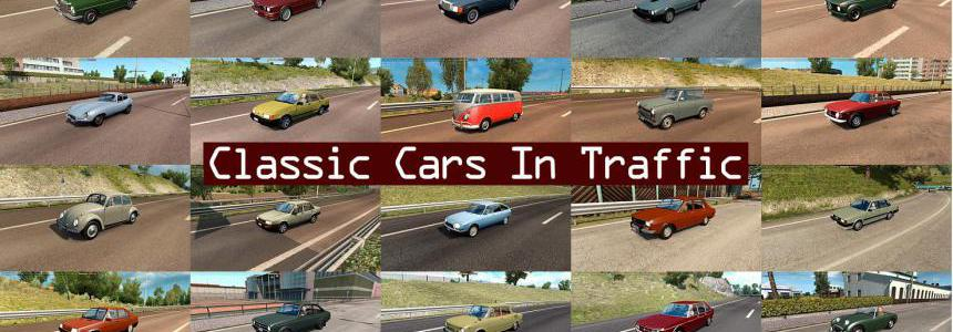 Classic Cars Traffic Pack by TrafficManiac v2.9