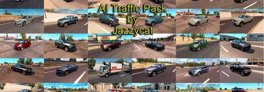 AI Traffic Pack by Jazzycat v6.2