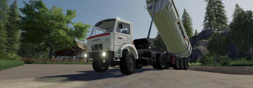 Schmitz Cargobull Tipper (TPM VERSION) v1.0