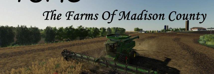 Farms Of Madison County 4X map v1.0