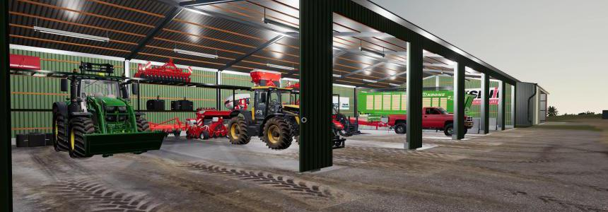 AC 2500S Placable Shed Pack v1.1