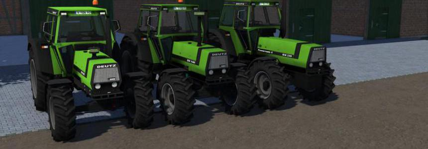 Deutz DX90, Deutz DX140 and Deutz DX230 v0.5.1.1