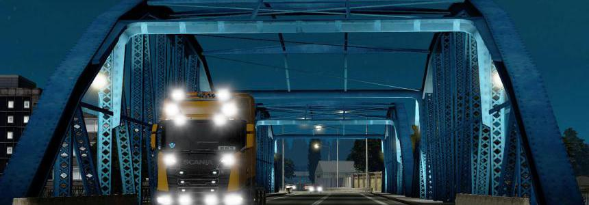 ETS2 Realistic Lights Scania S & R 1.34.x