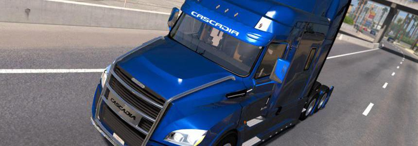 Freightliner Cascadia 2018 Ultrabald Edition v1.6.1 ETS2 1.34