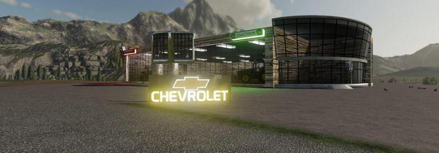FS19 Chevy SIGN v1.0