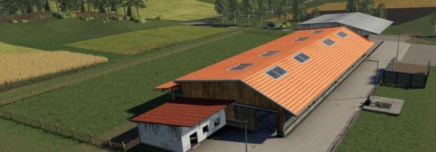 FS19 Placeable cow pasture / dairy farm v1.0