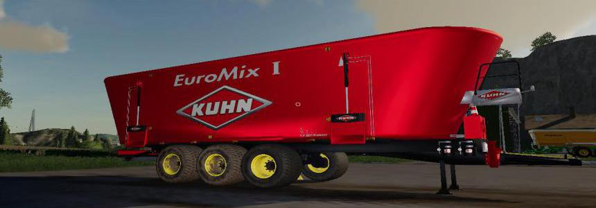 FS19 Kuhn Big Mixer Wago BY BOB51160 v1.0.0.4