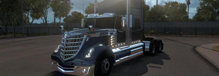 International Lonestar with cables for ATS 1.34.x
