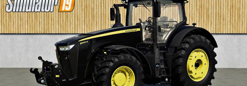 JOHN DEERE 8R SERIES BLACK v1.0
