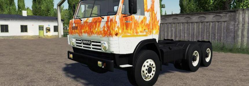 Kamaz 53212 FIRE v1.0