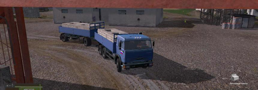 Kamaz PACK FOR THE CARD RUSSIA v2.9