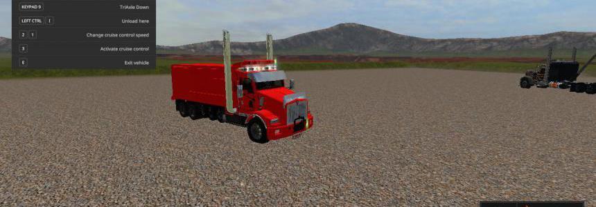 KenworthT800 dump truck v1.0.0.2