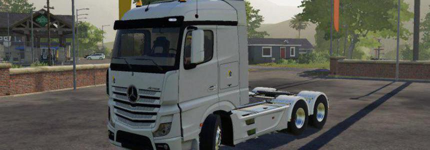 Mercedes-Benz Actros MP4 1845 6x4 v1.0.0.0