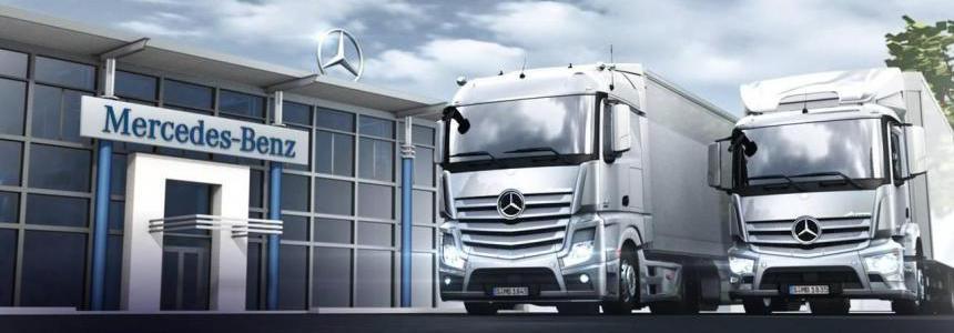 Mercedes Trucks Megapack 1.34.x