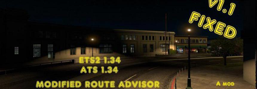 Modified Route Advisor & small Mirrors 1 34 v1 1 - Modhub us