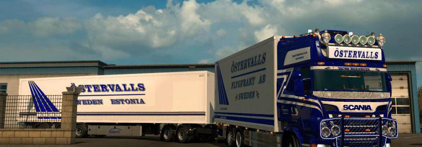 Ostervalls Scania 5 series Tandem combo 1.34.x