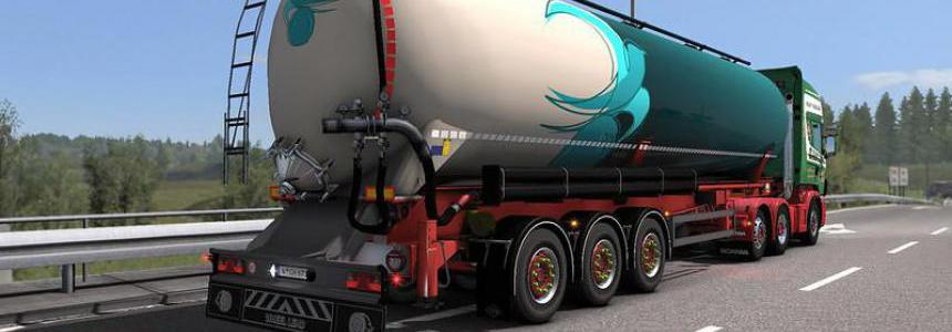 Owned Feldbinder silo trailer v1.01 1.34