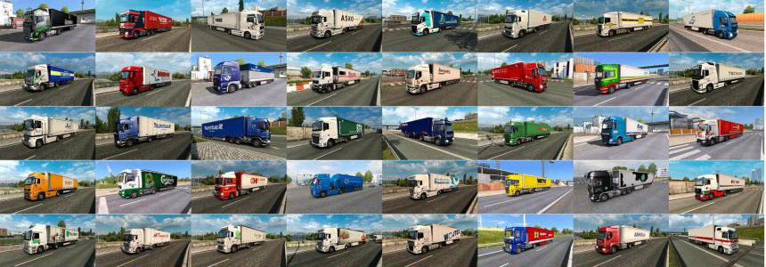 Painted Truck Traffic Pack by Jazzycat v7.7