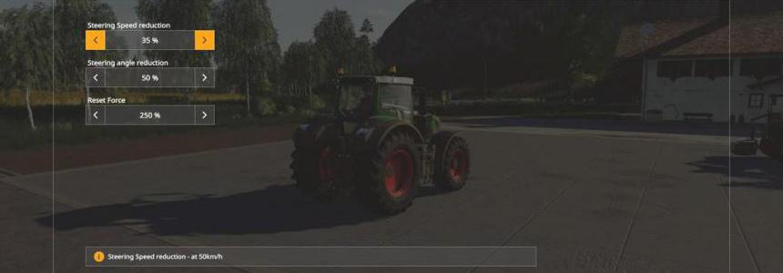 Realistic Steering v1.0.0.0