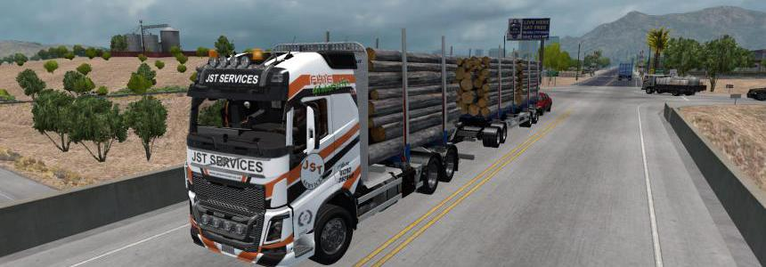 RTA Volvo FH16 plus Trailers v7.0 1.34.x