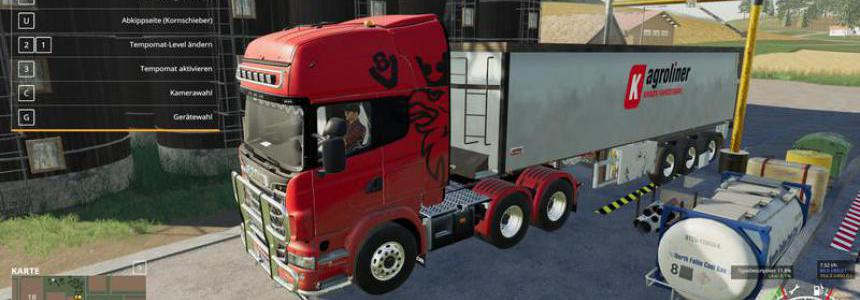 Scania R730 Semi 3 achser by Ap0lLo