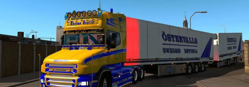 Scania T Blue & Yellow 1.34