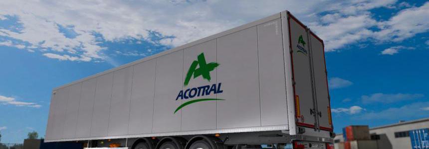 Skin Acotral Trailer - ets2 1.34