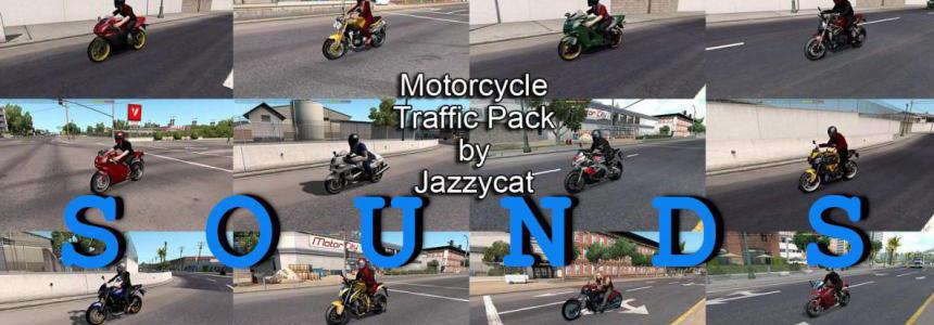 Sounds for Motorcycle Traffic Pack ATS v2.8