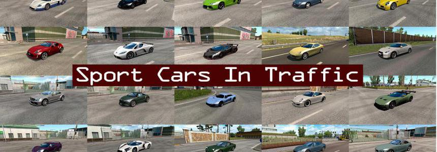Sport Cars Traffic Pack by TrafficManiac v3.5
