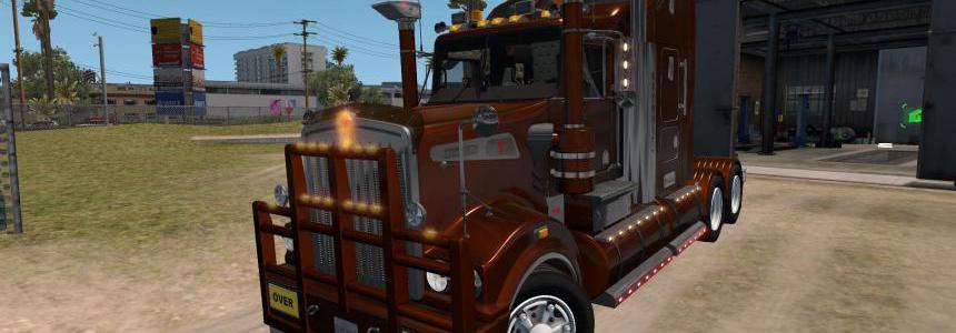 Truck: Kenworth T908 v6.4 Tuned ATS 1.34.x