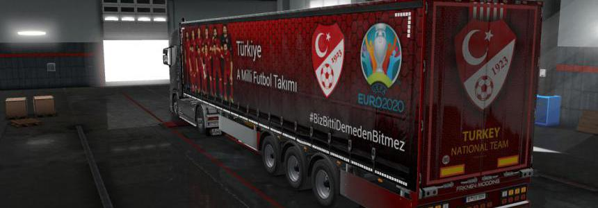 Turkish Super Lig Teams Trailer Paint Jobs Pack v1.1