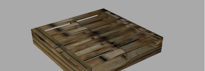 Wood pallet prefab v1.0