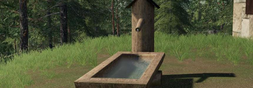 Wooden Fountain v1.0.0.0