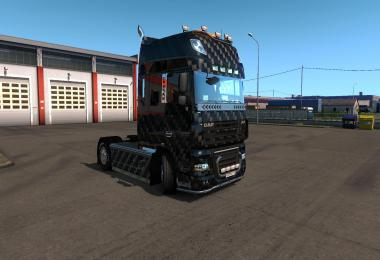 Skin Carbon for Daf XF 105 1.34.x