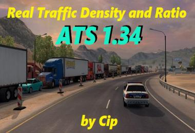 ATS Real Traffic Density and Ratio v1.34.b by Cip