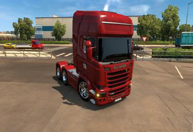 Scania 2009 and 2016 Black Glass 1.34.x