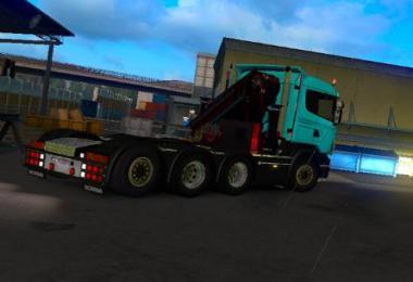 Crane for Scania R4 (RJL) 1.34.x