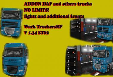 DAF TUNING [ADD LIGHTS IN SLOT] INTAKES MultiPlayer 1.34.x