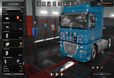 DAF TUNING INTAKES MultiPlayer 1.34.x