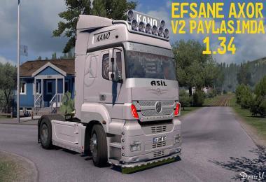 ETS 2 - Axor Tow Truck Mode - 1.34 / 16 ANF 85
