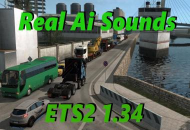 ETS2 Real Ai Traffic Engine Sounds packs 1.34