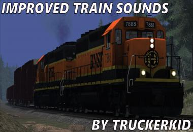 Improved Train Sounds [UPD: 08.04.19] 1.34.x