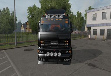 Kamaz 6460 TURBO DIESEL V8 update 1.34.x