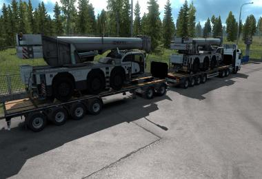 Loads of Heavy Cargo for Container Trailers 1.34.x