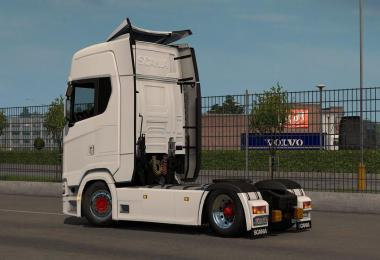 Low deck chassis addon for Scania S, R & P Nextgen v1.6