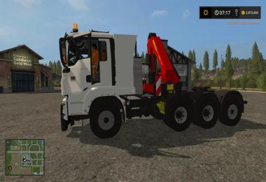 MAN 8x2 Tractur (TPM Version) v1.0
