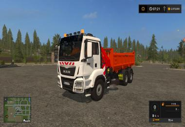 Man Crane Tipper (TPM Version) v1.0