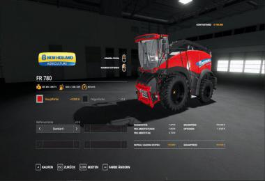 New Holland FR 780 MultiColor v1.0