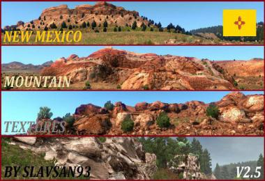 New Mexico Mountain Textures v2.5 1.34.x